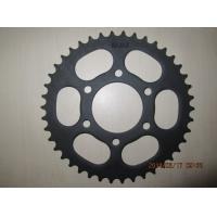 Wholesale Customized Bajaj 110 428-42T Motorcycle rear sprocket A3 45 Black from china suppliers