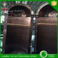 Wholesale Hot selling 304 316 Stainless steel metal fabrication decorative plates foshan factory from china suppliers