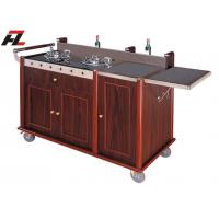 Wholesale Hotel Kitchen Cart with Backsplash -Kitchen Cart Island from china suppliers