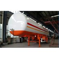 Wholesale Double BPW/FUWA axles 17tons bulk road transported lpg gas tank,factory sale best price bulk propane gas trailer from china suppliers