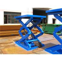 Wholesale 1000KG Stationary hydraulic small platform scissor lift For Warehouse / home lifting cargos from china suppliers