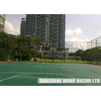 Wholesale Flat Exterior Backyard Tennis Court Wholesales Plastic Floor Covering DIY Tennis Court Resurface Price from china suppliers