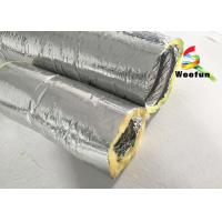 Wholesale Round 4 Inch Flexible HVAC Duct Insulation Wrap Insulated Aluminum Small Bending Radius from china suppliers