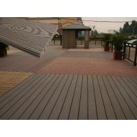 Wholesale Solid Wood Plastic Decking Eco Friendly UV Proof WPC Composite Decking from china suppliers