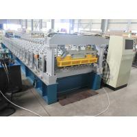 Wholesale Ghana 1200MM Steel Structure Metal Roof Roll Forming Machine Mitsubishi PLC from china suppliers