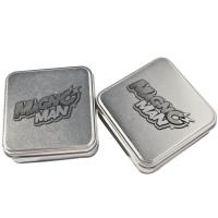 Wholesale Silver Gift Tins,Tin Jars For Chocolate Packaging, Food Tin, Sweet Tin from china suppliers