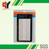 Wholesale ABS Plastic White Solder Breadboard 1380 Tie Points Without Color Printed from china suppliers