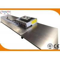Buy cheap V Cut Pcb Separator Machine Cutting Led Strip With Long Bench from wholesalers
