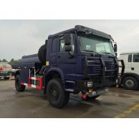 Wholesale HOWO 4X4 LHD Gasoline Transporting Oil Tank Truck / Petroleum Tanker Trucks from china suppliers