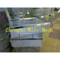 Buy cheap stainless steel Disinfection Basket for medicine from wholesalers