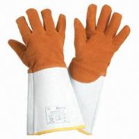 Wholesale 2C Leather Working Gloves, Used in Maintenance Work  from china suppliers