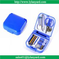 Quality Portable Travel Sewing Kit Box Needle Threads Scissor Thimble Home Tools for sale