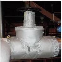 Wholesale High Heat Pipe Insulation Material / Aerogel Insulated Pipe Covers Removable from china suppliers