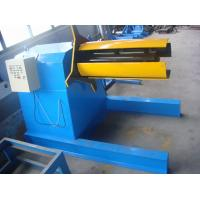 Wholesale 3 KW Hydraulic Uncoiler Machine 5 Ton with 0-35 m / min Speed from china suppliers