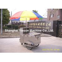 Wholesale Mobile Catering Hot Dog Cart single sink cupboards with glass doors from china suppliers