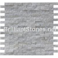 Wholesale Henan Crystal White Marble Mosaic Split Face from china suppliers