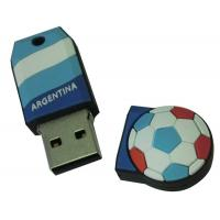 Wholesale Promotion gift soft plastic football usb flash (MY-U191) from china suppliers