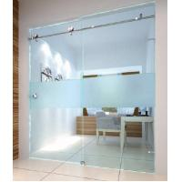 Wholesale Frameless glass sliding door for study room/shower room from china suppliers