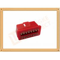 Wholesale RED 16 Pin Obd Connector Replacement Obd Ii Connector CK-SOM002B from china suppliers