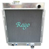 Quality Racing Car Custom Built Aluminum Radiators For FORD MUSTANG V6 1964-1966 1965 for sale