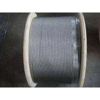 Wholesale AISI 304 7x7 Stainless Steel Wire Rope With 1.5mm Cable EN12385-4 from china suppliers