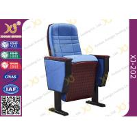 Wholesale Upholstered Ergonomic High Grade Fold Up Auditorium Seating / Movie Theater Chairs from china suppliers