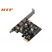 Wholesale SuperSpeed USB3.0 Type A port + Type C 6 Gbps PCI Express Interface Card Riser Card from china suppliers