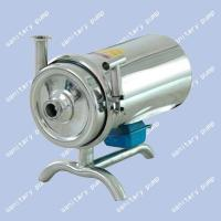 Quality Stainless steel sanitary pump, can transport the milk, paste, fruit juice, peanut butter for sale
