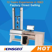 Wholesale 100KN Rubber Tensile Testing Machine High Precise For Peel / Bend Strength from china suppliers