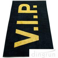Wholesale Large 100*180cm Custom Printed Beach Towels , Oversized Pool Towels Environment Friendly from china suppliers