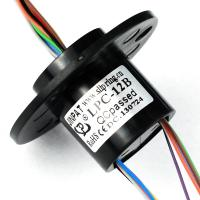 Wholesale Compact Capsule Slip Ring 12 Channels Electrical Rotary Joint ,Teflon Silver Plated Wire from china suppliers