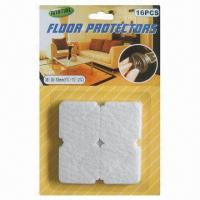 Wholesale Furniture/Chair Leg Pad, Felt Adhesive Triangle Shape Floor Protector from china suppliers