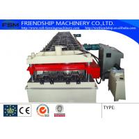 Wholesale 15KW 380V Metal Deck Roll Forming Machine With 2.0mm GI Steel 900mm width from china suppliers