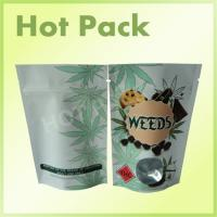 Wholesale Plastic Stand Up Zip Lock Individually Packaged Tea Pouch Bags With Window Food Grade from china suppliers