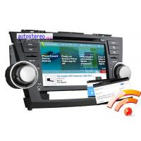 Wholesale 8'' Android 4.0 Car Stereo GPS Headunit for Toyota Highlander / Kluger from china suppliers