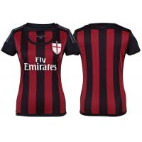 Wholesale Striped Womens Soccer Jerseys AC Milan Jersey ADIZERO Player Issue Magliot Trikot from china suppliers