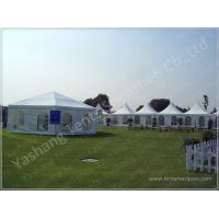 Wind Resistant Transparent Fabric clear event tent Canopy Strusture