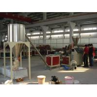 Wholesale 350kg/hgranules pvc surface hot cutting pelletizer machinery/granulator/pvc machinery from china suppliers