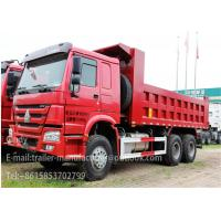 Wholesale 10 Wheels 30T Tipper / Dump Truck Trailer 20CBM HW15710 Transmission from china suppliers