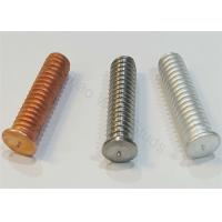Coppered Steel Threaded Stud Welder Pins 1/4 For Capacitor Discharge Welder
