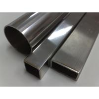 Wholesale 304 310 409 Welded Stainless Steel Tube, Welding Rectangular Pipe 600G 400G Polish from china suppliers