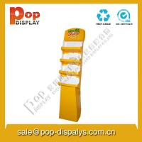 Wholesale Yellow Display Stands / Racks Retail And Foldable For Floor from china suppliers