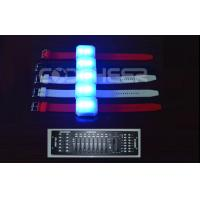Buy cheap Rechargeable Led Flashing Light Glow Bracelets KL -0610 , DMX Controlled from wholesalers
