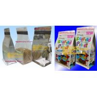 Wholesale Block bottom Zip Bag, Gravure Printed Pouche, Printed Pouche, Flexographic Printed Pouches from china suppliers