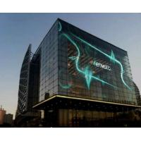 Buy cheap P10 fixed China best video high brightness glass transparent led display screen from wholesalers