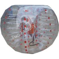 Wholesale Fun PVC Or TPU Body Zorbing Bubble Ball Clear Soccer Bubble Ball from china suppliers