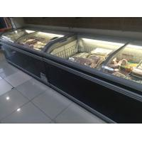 Buy cheap -18~-22℃ big capacity ombined island freezer with 1.85 / 2.1 /2.5 m length from wholesalers