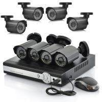 Wholesale 4 Channel Standalone DVR Surveillance System For Bullet Camera Support 3G Phone from china suppliers