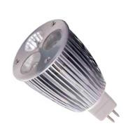Wholesale MR16 DC12V White/Warm white LED  Spot Light 3w from china suppliers