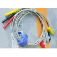 Wholesale Din Style IEC Safety 3 Leads ECG Monitor Cable And Leadwires Compatible All Brand from china suppliers